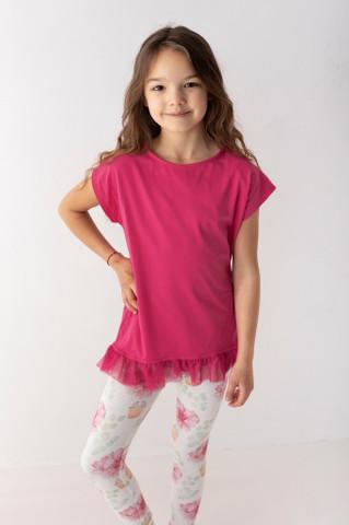 bluzki z krótkim rękawem dla dziewczynek